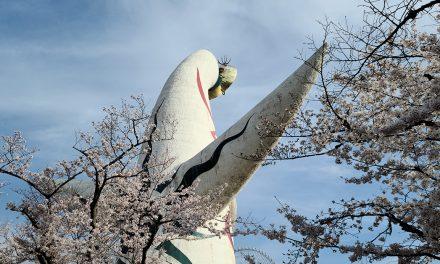 Osaka, Expo'70 Commemorative Park, Sakura 2021