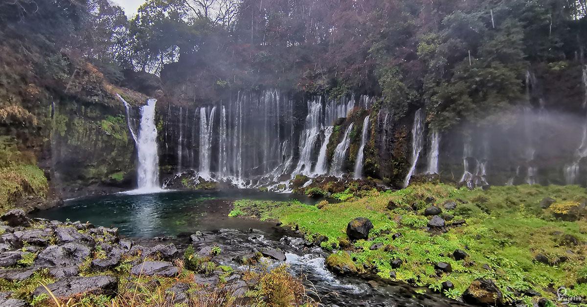 Kyoto to Nagano, Part 4: Shizuoka,  Fujinomiya & Shiraito Falls